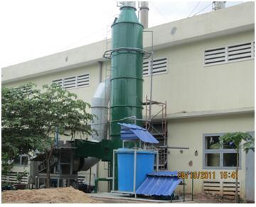Bồn tháp xử lý khí thải
